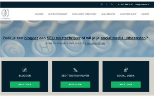 Professionele uitstraling website - Contented blogt