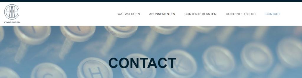 contactpagina_Contented_tekstschrijver_Apeldoorn