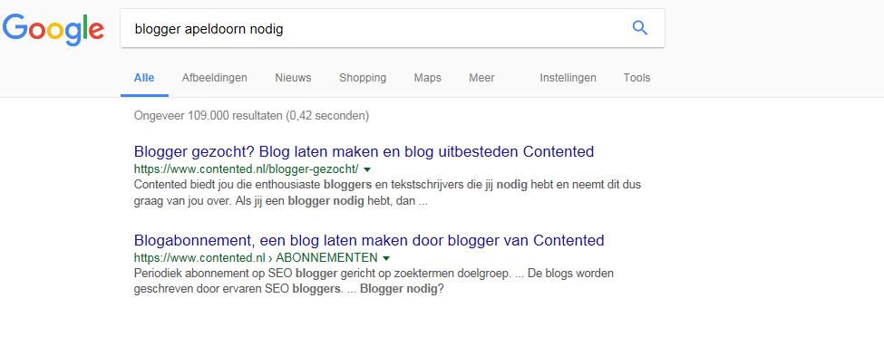 Contented_blogger_Apeldoorn_nodig_SEO