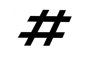 De hashtag is geen leesteken, maar wat is het dan wel?